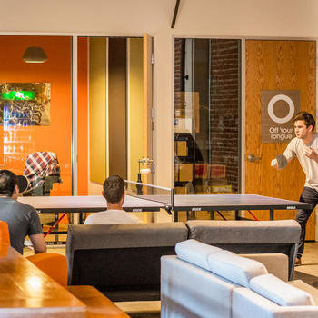 Kareo - Ping pong for everyone!  We have tournaments, prizes and a whole lot of fun.