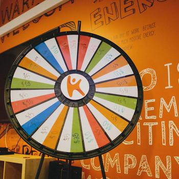 Kareo - Kareo Karacters get to spin the wheel!