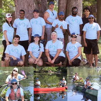 Agero, Inc. - Proof that having fun and giving back are 100% compatible. Medford based Agero associates join forces with the Mystic River Watershed Association to clean up Mystic River.