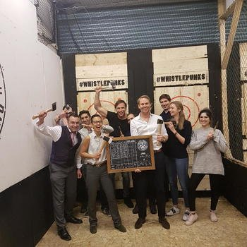 RotaGeek - Team axe throwing.