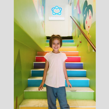 LittleLives - Our rainbow stairway, oh what a way to start your day!