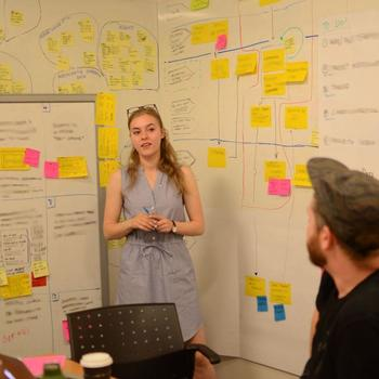 Nulogy Corporation - Our product team in the process of a design sprint