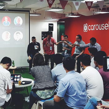 Carousell - We often host meetups and gatherings in our office