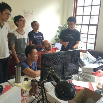 Carousell - Our Taiwanese colleagues in their huddle