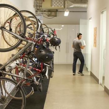 The Working Group - Bike racks @TWG