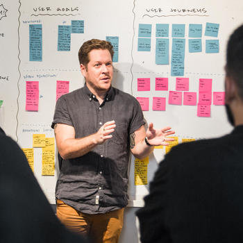 The Working Group - Design Sprint 0 in action with Liam Thurston