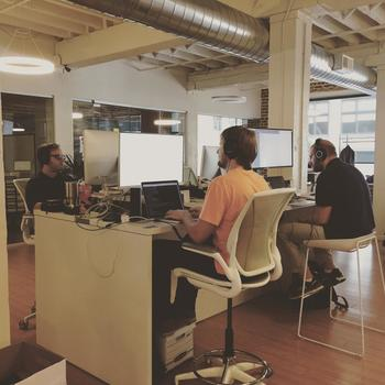 Cricket Health, Inc. - We work out of a friendly, spacious, and dog-approved co-working space in SOMA