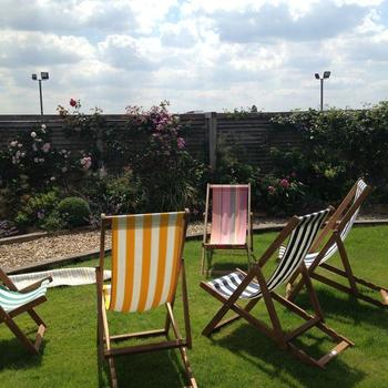 Boden - Roof terrace for summer lunch breaks