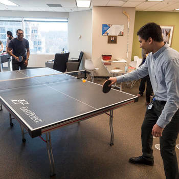 NEXJ Systems - Some mid-day ping pong? Why not!