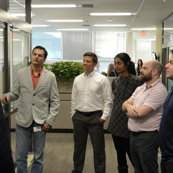 NEXJ Systems - Brainstorm at daily stand up meetings!