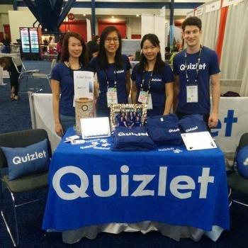 Quizlet - Sponsors at Grace Hopper!
