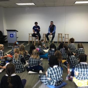 Quizlet - Elementary School visit at Quizlet HQ