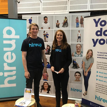 Hireup Australia - Expo day!