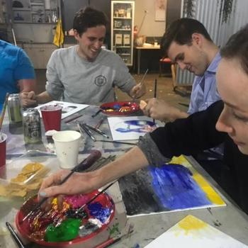 Hireup Australia - Team painting