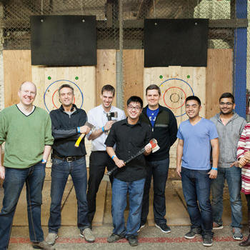 Purefacts Financial Solutions Inc - Axe throwing