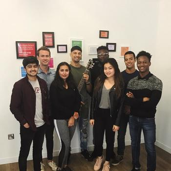 Fanbytes - Awesome working environment, surrounded by a young and vibrant team (with an average age of 21).  Team events including go-karting, lunches, axe-throwing (Our CEO's favourite) and more.