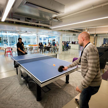 Elsevier - ...and ping pong!
