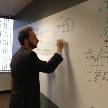 Viv Labs - A lot of science happens around our whiteboard walls