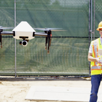 Skycatch - Customer testing the new high precision drone.  Design and created by the team in San Francisco and Mexico, manufactured by our friends at DJI
