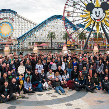 Roblox - Celebrating achieving 1,000,000 concurrent players at Disneyland!