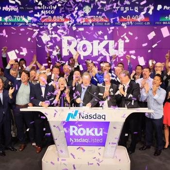 Roku, Inc. - Roku IPO day - Thanks to the millions of streamers who made this day possible!