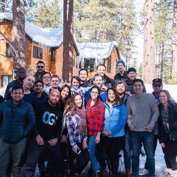 TravelBank - Team at Lake Tahoe