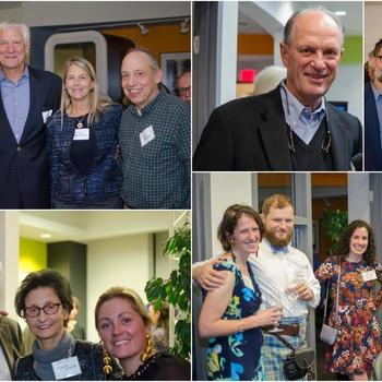 Humatics Corporation - Scenes from the Humatics Open House: see if you can spot the kilt, the oceanographer who discovered the Titanic, the co-founder/Chairman of Analog Devices, and the former Deputy Administrator of NASA!