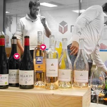 TWIL - The Wine I Love - Une dégustation au bureau :-)