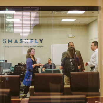 SmashFly Technologies - A modern and comfortable work place..