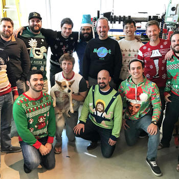 sensemetrics - Holiday season at the office
