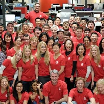 Flipboard - Team Flipboard on launch day