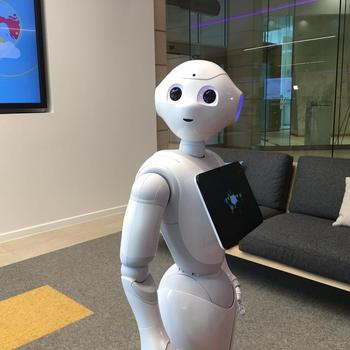 ATB Financial - Ever wonder what its like to work with a robot? Meet Pepper!