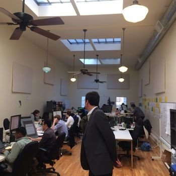Ditto.com - We work in a bright, sunny and open loft right on S. Park in SOMA