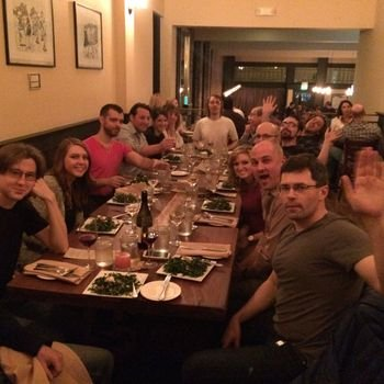 Ditto.com - Fun team dinners at least once a month