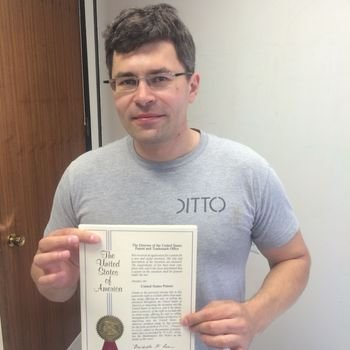 Ditto.com - (Reluctantly) posing with patents