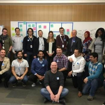 ATB Financial - Fostering intrapreneurship - our Innoventure team, 18 team members who are currently undertaking a 12 week course on how they can live the lean startup methodology every day.