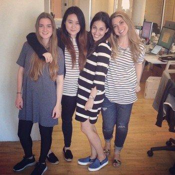 Spring - On Fridays We Wear Stripes