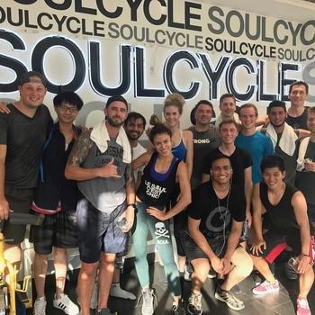 Pray.com - Pray.com staying fit at Soul Cycle