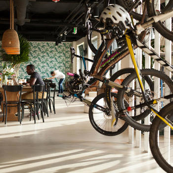 Looker - Our offices are full of Bikes