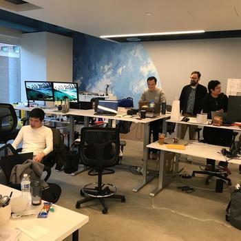 Shippabo - Dev Team running away from camera