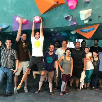 WayBlazer - Climbing with the team