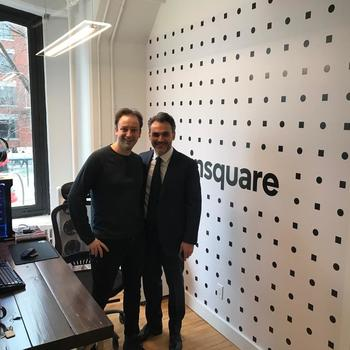 Coinsquare - Meet the team - our Founder and CTO Virgil Rostand and our CEO Cole Diamond