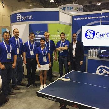Sertifi Inc. - HITEC trade show