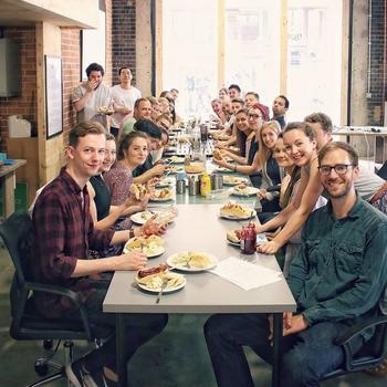 Hire Space - Friday means catered lunch at Hire Space, followed by beers with the team.