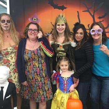 HotSchedules - We celebrate holidays like Halloween on a grand scale!