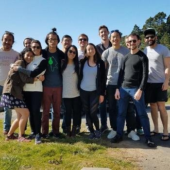 Alto - Our small, diverse, and goofy Product Team (missing a few) at our 3rd HackRanch weekend!