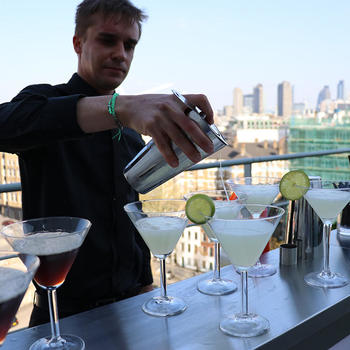 Voucher Codes - Summer drinks on the terrace
