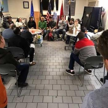 Itemize LLC - The Itemize team enjoyed visiting with the veterans at Samaritan Daytop Village, telling them about AI and ML, and thanking them for their service!