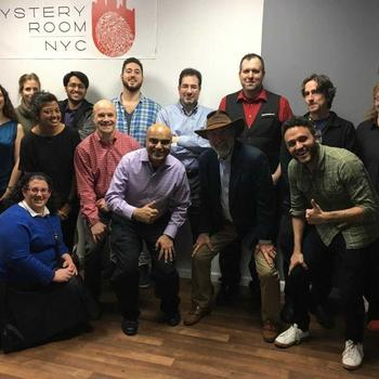 Itemize LLC - We escaped the room! Happy Holidays 2017!
