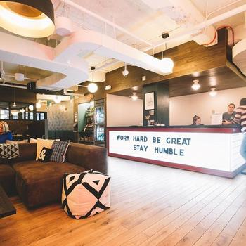 Localised - Our NYC HQ operates out of WeWork Times Square. We love the space! And the free coffee and beer doesn't hurt either!